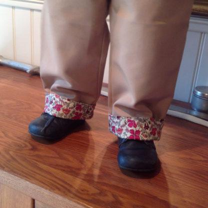 Patron couture pantalon Bébé, doublé à revers - ACHILLE