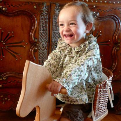 Patron couture Bébé - Guimpe à col pierrot - HERMIONE