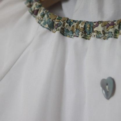 Patron couture Blouse Enfant à col pierrot - ANTIGONE