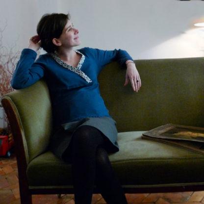 Patron couture jupe grossesse - DANAÉ