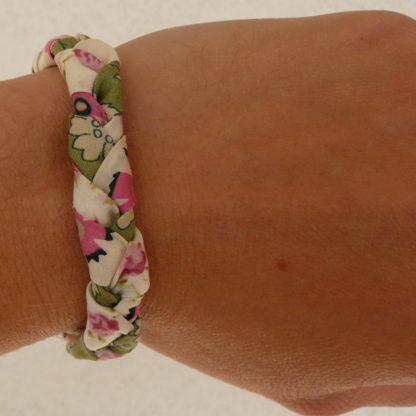 Tuto couture bracelet liberty - Bracelet tressé en Liberty