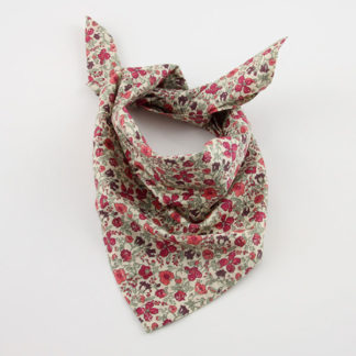 Tuto couture foulard - Foulard en tissu Liberty