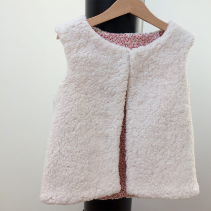 Patron couture gilet Enfant, sans manches - ÉRIDAN
