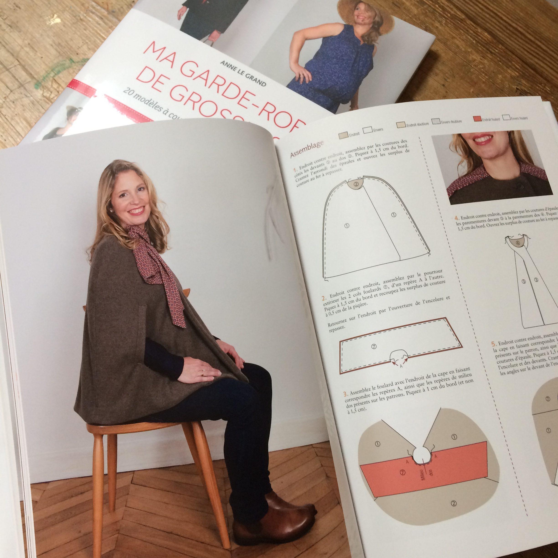 livre couture grossesse ma garde robe de grossesse chez eyrolles. Black Bedroom Furniture Sets. Home Design Ideas