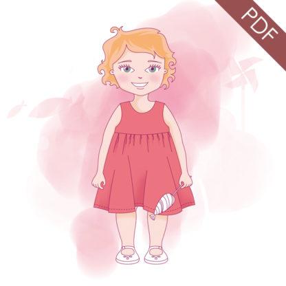 Patron couture robe Bébé -ARIANE