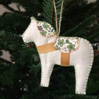 Patron couture déco Noël - Décorations de Noël & Dalahäst
